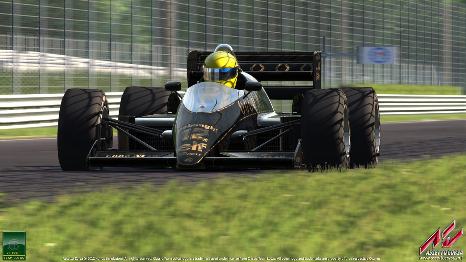 Assetto Corsa: Száguldás a legendás Lotus 98T volánja mögött Monzában