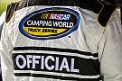 NASCAR Truck Problemas en un vuelo retrasa a oficiales de NASCAR