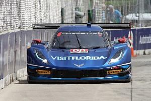 IMSA Preview Goossens met Daytona Prototype in actie op Goodwood Festival of Speed