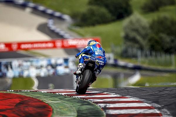 MotoGP Résumé d'essais Suzuki cherche la puissance au Red Bull Ring
