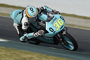 Moto3 Rennbericht Joan Mir gewinnt Moto3-Rennen in Spielberg, Philipp Öttl erkämpft Rang fünf