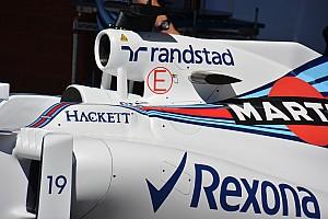 Технический брифинг: в Williams удалили крылышко с верхнего воздуходзаборника