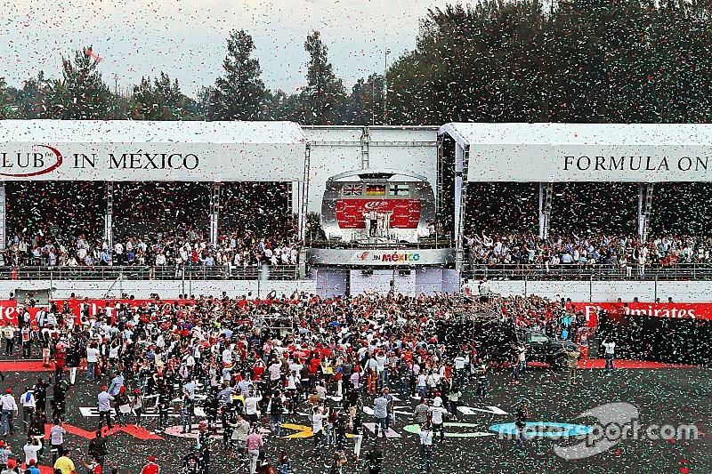 「表彰式をより盛大なものに」とメキシコGPが画策