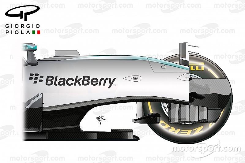 Animazione di Piola: ecco come sono i telai di Mercedes, Red Bull e Ferrari