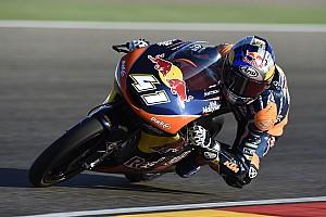 Moto3 Rennbericht Moto3 in Aragon: Brad Binder erzwingt vorzeitige Titelentscheidung
