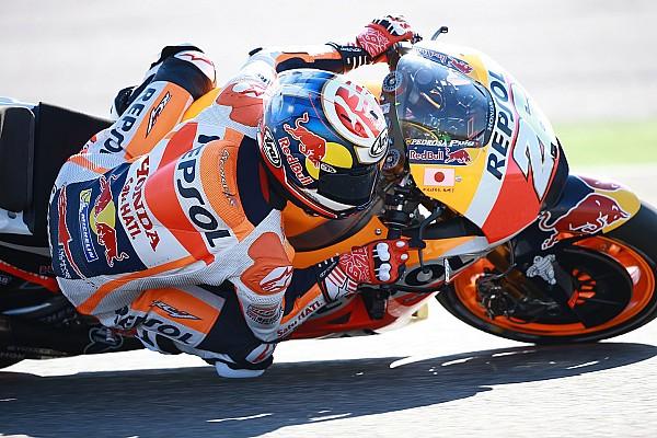 MotoGP Noticias de última hora Honda completa una jornada de test con la moto de 2017 en Aragón
