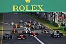 世界モータースポーツ評議会、2017年F1開催カレンダーを承認