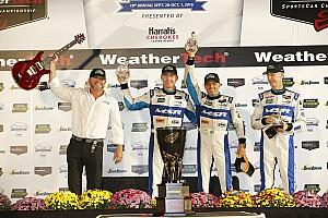 IMSA Reporte de la carrera Michael Shank Racing logra el triunfo en Petit Le Mans