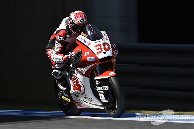 中上貴晶「グリッドポジションには満足していないが、表彰台を争い、優勝を狙いたい」:Moto3日本GP予選