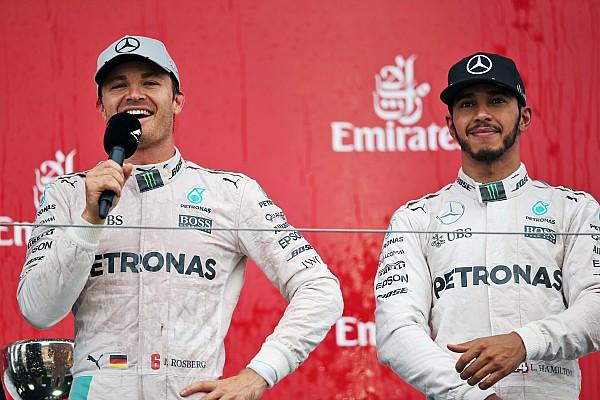 Formule 1 Actualités Hamilton - Si Rosberg est Champion, je réagirai