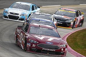 NASCAR Sprint Cup Reporte de prácticas Ryan Blaney fue el más rápido en la práctica matutina del sábado