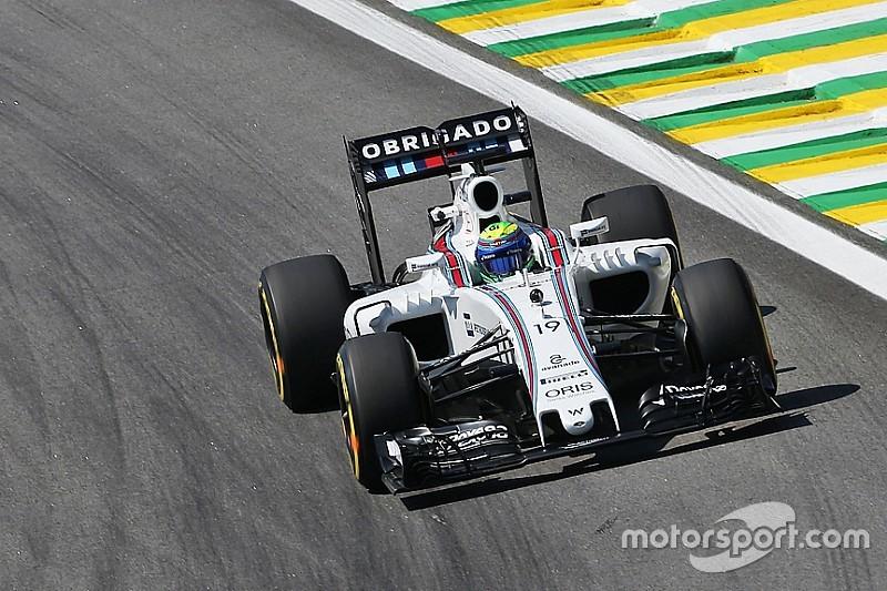 Formel 1 in Brasilien: Williams bester Mercedes-Verfolger im Training