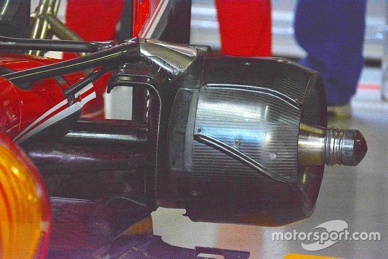 Ferrari: a Interlagos serve più aria, le prese dei freni sono grandi!