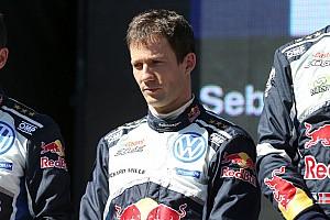WRC Réactions Ogier triste de