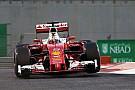 【F1アブダビGP】ベッテル「スーパーソフトでのスタートは有利にならない」