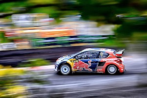 World Rallycross Réactions Loeb -