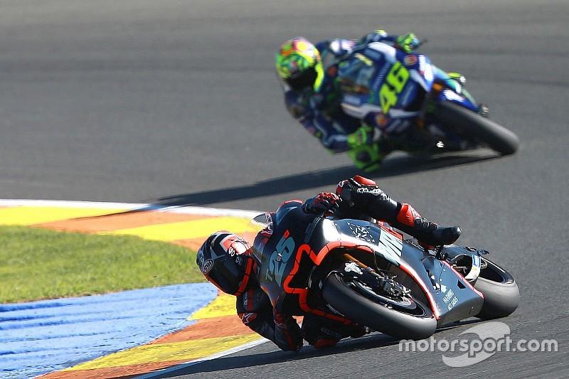 【MotoGP】ロッシ、ビニャーレスに手を焼く予感。「ロレンソと同じくらい手強い」