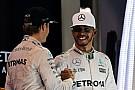 Formel 1 So reagiert Lewis Hamilton auf den Rücktritt von Nico Rosberg