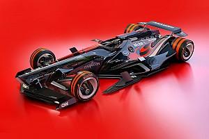 Формула 1 Топ список Галерея: футуристичний дизайн Ф1 2030 року — McLaren і Toro Rosso
