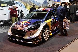 WRC Ultime notizie M-Sport: il muso delle Fiesta 2017 di Ogier e Tanak si tinge d'argento!