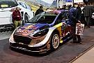 WRC M-Sport: il muso delle Fiesta 2017 di Ogier e Tanak si tinge d'argento!