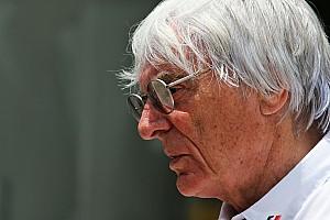 F1 速報ニュース 【F1】バーニー・エクレストン、F1のCEOを退任。本人が認める