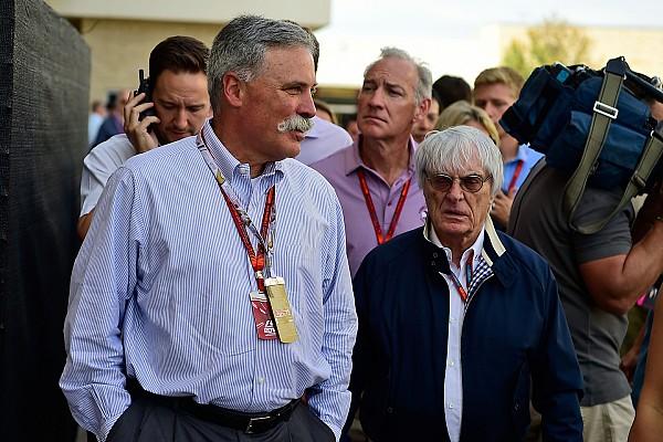 Fórmula 1 Últimas notícias Carey: F1 não cresceu o quanto podia e precisava de mudança