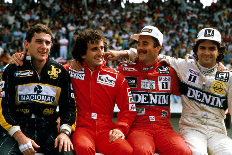 O quinteto atual pode passar a turma de Senna, Piquet, Prost, Mansell e Berger na sequência de vitórias deste ano