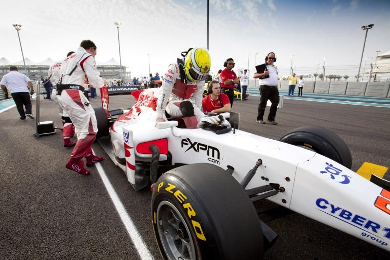 Luiz Razia está em seu terceiro ano na GP2, correndo pela equipe estreante Air Asia