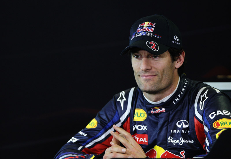 Webber espera melhorar seu retrospecto correndo em casa: seu melhor resultado é um quinto lugar