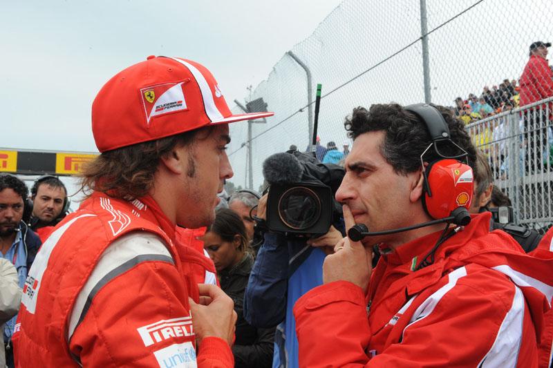 Alonso e Andrea Stella