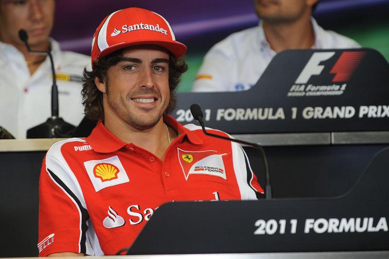 Alonso é o quinto colocado no campeonato