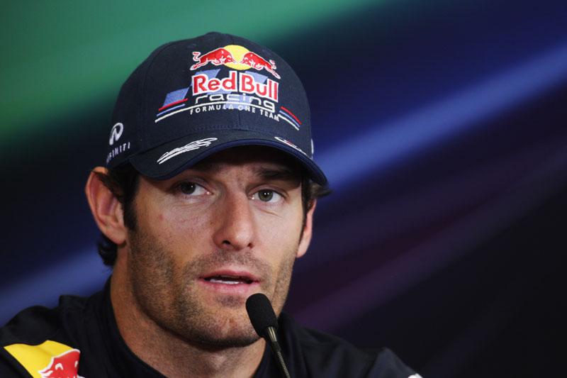 Webber quer vencer uma corrida logo
