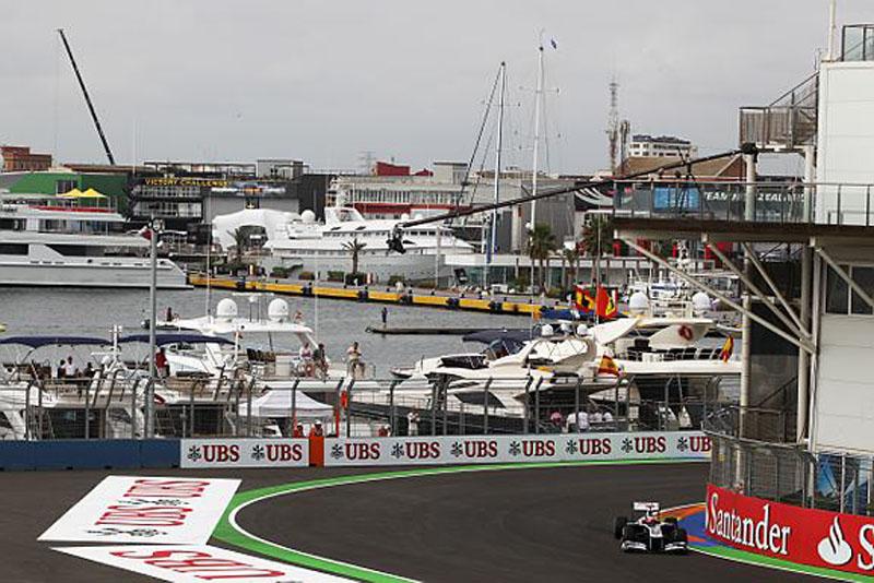 Barrichello foi o 12º nos treinos livres de sexta-feira em Valência