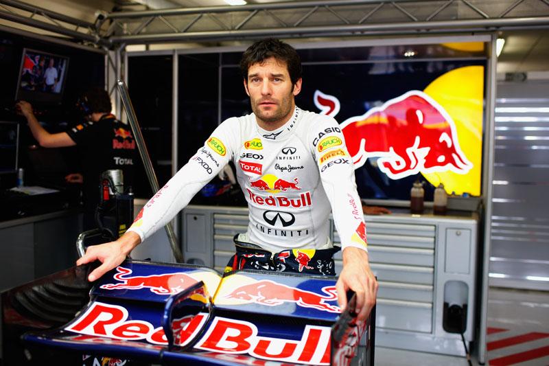 Webber fechou o dia em sétimo lugar