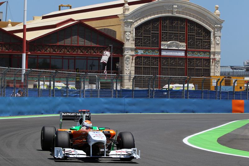 Sutil vai largar em 10º no GP da Europa