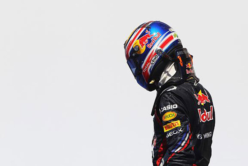 Webber empatou com Button na vice-liderança do campeonato