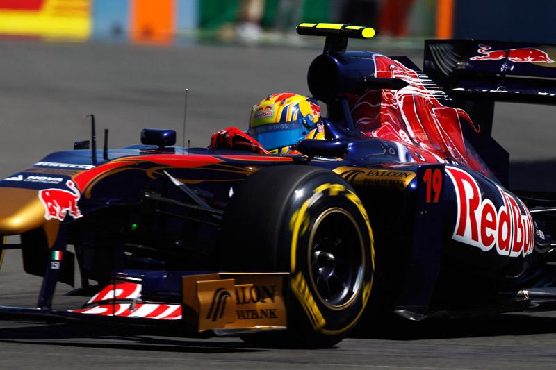 Alguersuari foi um dos destaques do GP da Europa