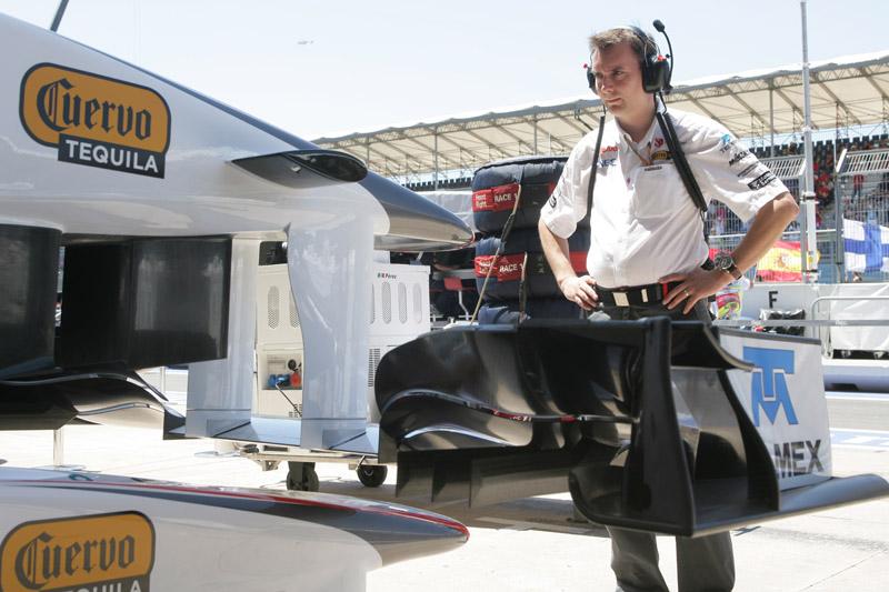 O diretor técnico da Sauber, James Key