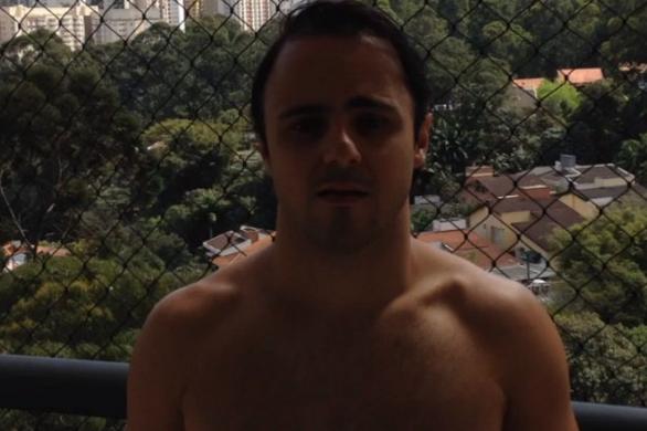 Massa participou do mais novo viral da internet