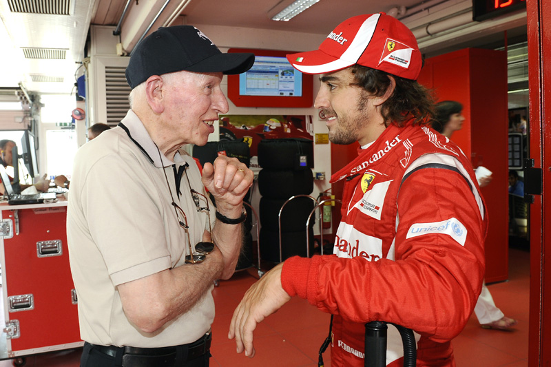 John Surtees e Fernando Alonso