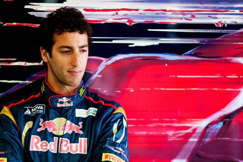 Ricciardo é piloto de testes da Toro Rosso