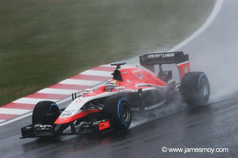 Bianchi sofreu um grave acidente na parte final da corrida