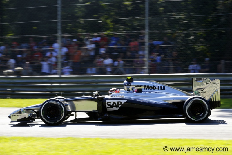 Magnussen terminou com o segundo tempo no TL2