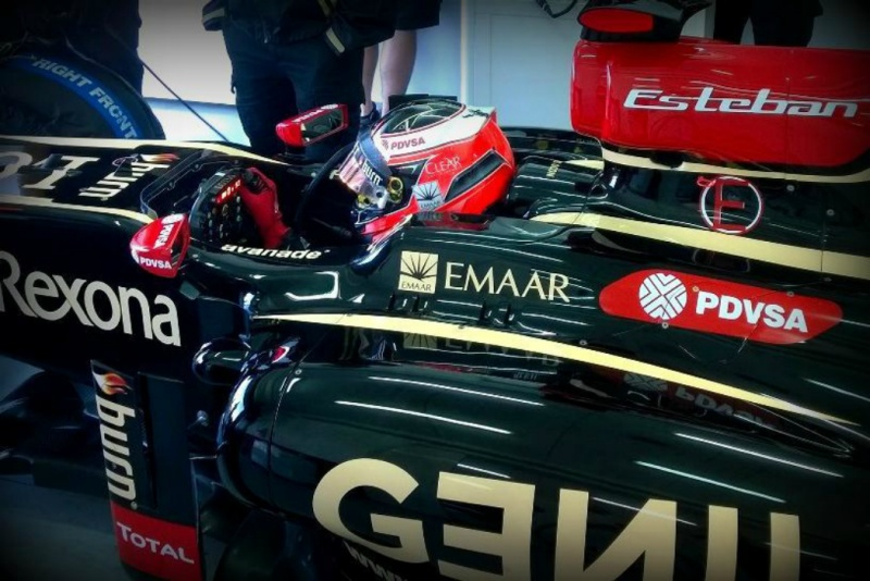 Jovem piloto testou pela Lotus