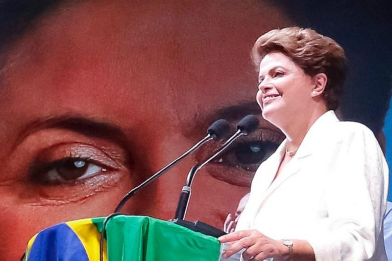 Dilma Rousseff foi reeleita para mais quatro anos na presidência