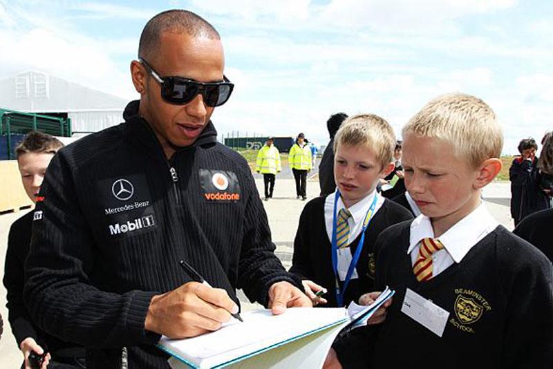 Hamilton corre em casa neste final de semana