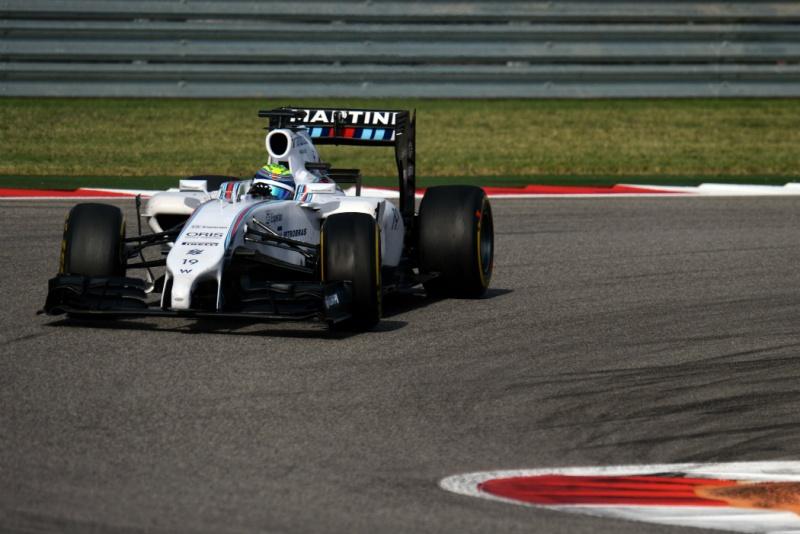 Massa terminou o GP dos EUA na quarta posição