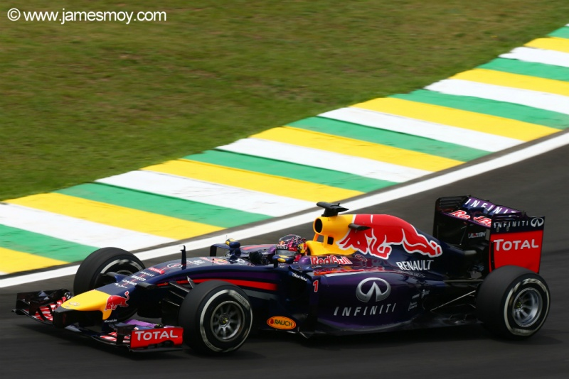 Vettel reclamou do desempenho da Red Bull durante o treino