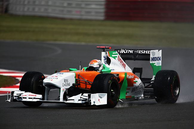 Adrian Sutil em Silverstone